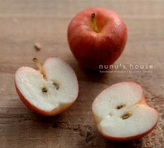 polymer clay apples