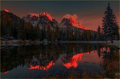 ***Last light (Dolomites, Italy) by Stefano Crea on 500px