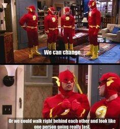 If Flash had a team…