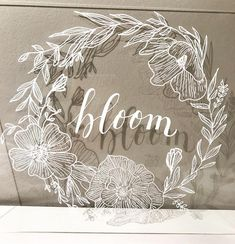 I arrived home from work today to find my order of clear acrylic signs. Of course I couldn't wait to create something on… Arts And Crafts, Diy Crafts, Table Signs, Modern Calligraphy, Wedding Signs, Clear Acrylic, Wedding Stationery, Signage, Hand Lettering