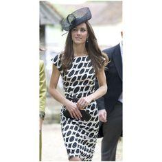 Kate Middleton Decorative Hat via Polyvore