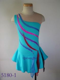 Nice custom Figure skating Competition dress size of 10,L,S,16