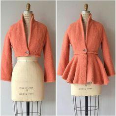 Vintage convertible coat