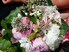 Brudebuket lavet af min søster