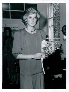 Update: May 26, 1987: Princess Diana visits the London Headquarters of the Commonwealth Society for the Deaf.