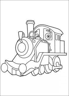 chuggington coloring pages picture 12