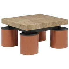 Custom Coffee Table by Massimo Vignelli | From a unique collection of antique and modern coffee and cocktail tables at https://www.1stdibs.com/furniture/tables/coffee-tables-cocktail-tables/