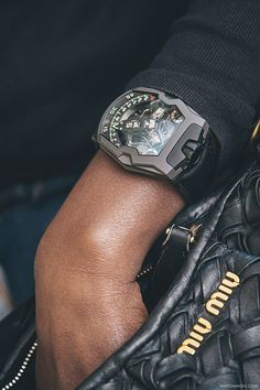 "UR-210 AlTiN ""Black Hawk"", URWERK by Watch Anish"