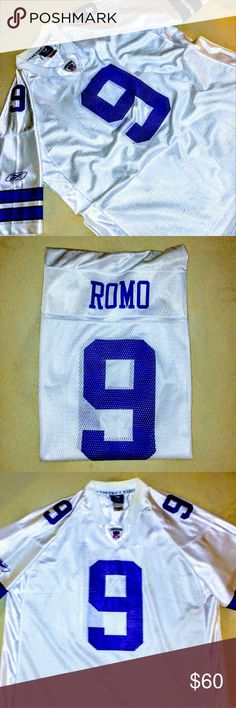 Mens Dallas Cowboys Jersey--Will bundle!! Size XL Mens Dallas Cowboys jersey. Made by Reebok.  #9 Tony Romo. Excellent condition. Reebok Shirts Tees - Short Sleeve