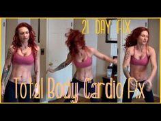 21 Day Fix - Total Body Cardio Fix slim down with sara