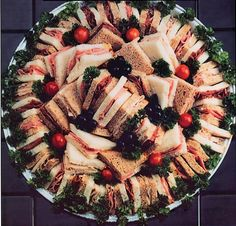 Food For Party Platter  recipes | platter custom decorated cakes pies types of burgers delicious platter