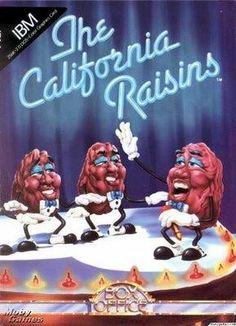 "California Raisins = Funny ""Dancing"" Advertising Icons  :)"