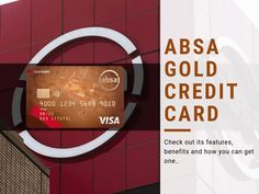 As South Africa's most leading bank, Absa is focused on providing affordable financial products that take advantage of online channels The post Absa Gold Credit Card appeared first on MoneyToday: Guide to Loans, Personal Finance, Shopping and More. Credit Card Application, Mastercard Logo, Visa Card, Credit Card Offers, Get One, Personal Finance, South Africa, Cards