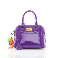 Pauls Boutique - Patent Purple Bag with Charms Paul's Boutique, Superdry, Hermes Kelly, Fashion Accessories, Vans, Handbags, Chic, Purple, My Style