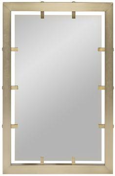 Vanguard Furniture: 9444M Wilkinson Mirror wish it was bigger!!