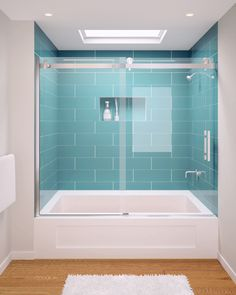 The Acero frameless, shower enclosure offers a clean, minimal, Architectural statement ideal for any transitional or contemporary bath setting. Framed Shower Door, Glass Shower Doors, Shower Tub, Glass Doors, Frameless Sliding Shower Doors, Frameless Shower Enclosures, Small Bathroom, Bathroom Ideas, Bathrooms