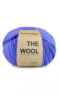 100% Peruvian Wool Klein blue