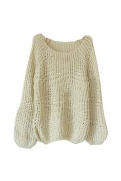 This is the kind of sweater I could wear every day, literally.