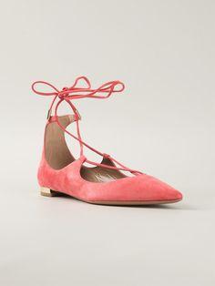 FLADE SKO (NAESTEN)2  Aquazzura 'christy Flat' Ballerinas - Apropos The Concept Store - Farfetch.com