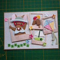 Marianne Design, Mice, Handmade Cards, Cardmaking, Diy And Crafts, Scrapbooking, Inspiration, Animals, Instagram
