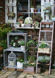 ideeen tuin 2016 ladder
