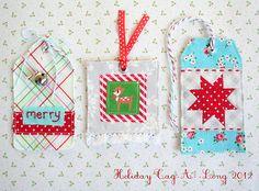 Heart Handmade UK: 2012 Holiday Tag Along with Pretty by Hand and Nana Company