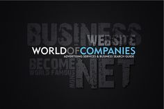 The World of Companies is an advertising community willing to help your business become world famous by advertising it through our website, and provide a thorough search index for people looking for businesses and websites anywhere in the world.