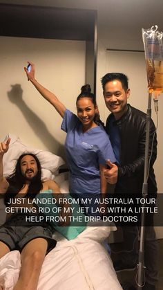 - It was a pleasure providing world renowned DJ Steve Aoki our custom Limitless IV Infusion to help with his post tour jet lag! Thanks for letting us be part of your health and wellness team! 🙏😊💧#dripdoctors #dripwithus #hydration #jetlag #IV #therapy #ivvitamintherapy #health #wellness #immunity #vitamins #vitality #concierge #energy #balance #reset #edm #steveaoki