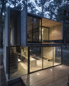 H3 House in #BuenosAires #Argentina designed by Luciano Kruk / Photo by Daniela…
