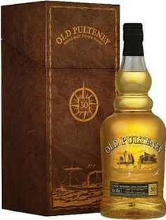 Whisky merchants: Old Pulteney 30 year old Scotch Whisky