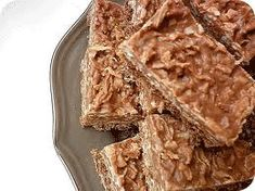 Chocolate Coconut Rough Slice