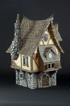Here's the Merchant's House from Tabletop World I've painted for use in Warhammer Fantasy