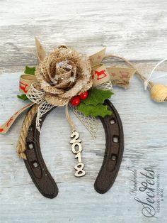 Christmas decorative horseshoe christmas horseshoe decor
