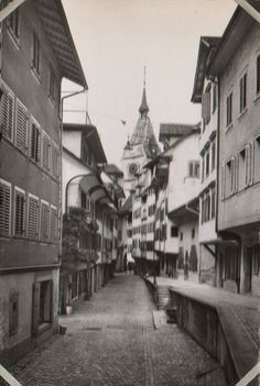 Zug, Switzerland, 1952 Family Roots, Lausanne, Switzerland, Scenery, Train