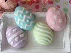 Easter Egg Soap - Easter Soap - Spring Soap - Pastel Easter Soap - Soap for Kids Glycerin Soap Base, Felted Soap, Soap Favors, Easter Celebration, Home Made Soap, Handmade Soaps, Jelly Beans, Baby Shower Favors, Easter Baskets