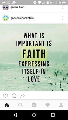 Faith saying