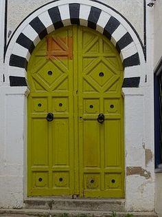 Porte, Arabesque, Tunis, La Madina