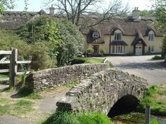 Photo of A packhorse bridge in the village of Winsford on Exmoor National Park, Somerset., by Gill Deadman - Pictures of England Royalty Free Stock Photos England Ireland, England And Scotland, England Uk, Somerset England, Oxford England, English Country Cottages, English Village, Pictures Of England, Old Bridges