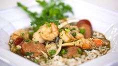 Gumbo is one of New Orleans' most emblematic dishes. In true Creole fashion, Tujague's version is a perfect marriage of surf and turf.