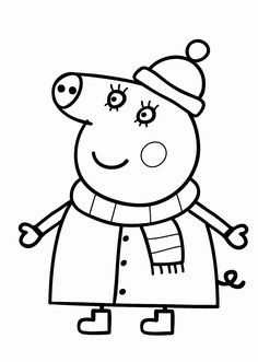 Coloring Pages Peppa Pig from Peppa Pig Coloring Pages. There are really a lot of choices of films and shows for kids. From educative to consumptive teaching ,and from catchy and positive animated series, . Peppa Pig Coloring Pages, Frozen Coloring Pages, Cartoon Coloring Pages, Animal Coloring Pages, Coloring Pages To Print, Coloring Book Pages, Coloring Pages For Kids, Free Coloring, Peppa Pig Drawing