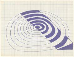 Frank Stella. Untitled. n.d.