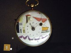 Decorated dial...