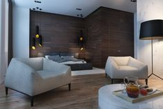 Roohome.com -If you want to make your studio apartment design more comfortable and interesting, you should try to apply the darker shades in it. You also need to choose the right furniture and make the creative layout for it. Of course, the efficiency apartmentwill look after you apply it correctly. ...