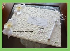 Orchid Wedding Guestbook