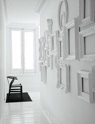 Faça você mesmo- composição de quadros na parede
