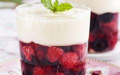 Marja-jogurttihyytelö