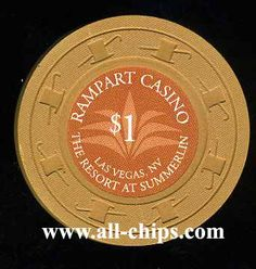 Rampart Casino 2nd issue for sale here http://www.all-chips.com/ChipDetail.php?ChipID=14370 uncirculated