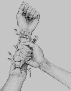 Group of sad love drawings 36 Anger Art, Depression Art, Art Tumblr, Drawn Art, Foto Art, Art Inspo, Amazing Art, Art Drawings, Sketchbook Pages