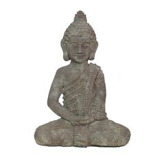 This antique style buddha adds a soothing rustic chic charm to your décor. Place it on a shelf in your living room or bedroom for a relaxed bohemian touch.  Find the Antique Style Buddha, as seen in the Winter in the Desert Collection at http://dotandbo.com/collections/calm-and-collected?utm_source=pinterest&utm_medium=organic&db_sku=92504