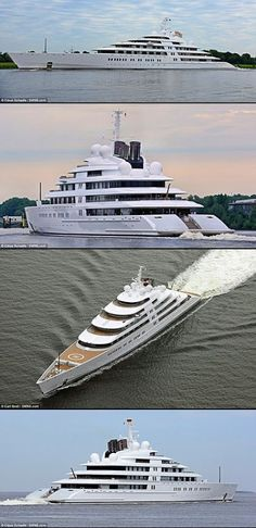 Fascinating Look at the $596-Million Azzam, the World's Largest Mega Yacht